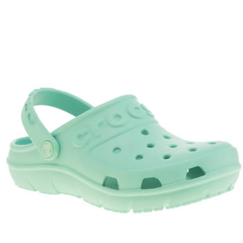 Crocs Turquoise Hilo Clog K Girls Junior