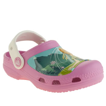 Girls Crocs Pink Frozen Clog Girls Junior