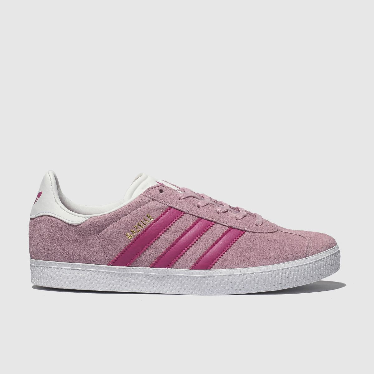 Adidas Pale Pink Gazelle Trainers Junior