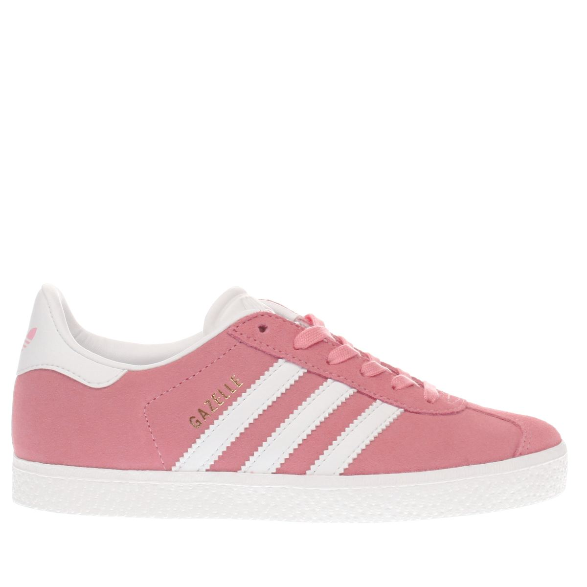 adidas pink gazelle Girls Junior Trainers