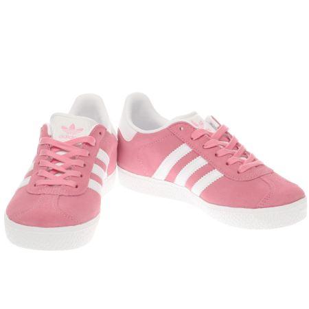 pink adidas gazelle