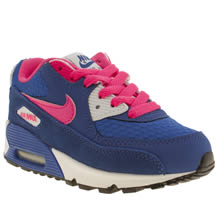Junior Blue Nike Air Max 90 2007