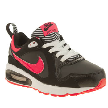 Nike Black & pink Air Max Trax Girls Junior