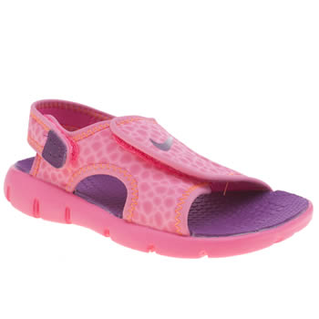 Nike Pink Sunray Adjust 4 Girls Junior