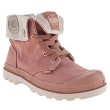 Junior Pale Pink Palladium Baggy Zipper
