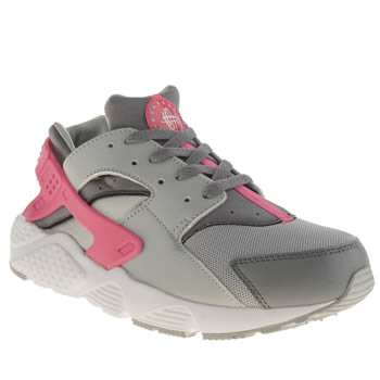 Nike Grey Huarache Run Girls Junior