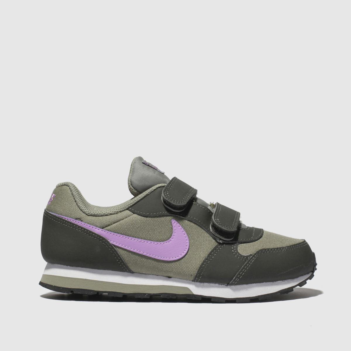 Nike Khaki Md Runner 2 Trainers Junior