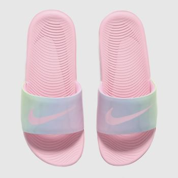 Girls Nike Pink Kawa Slide Girls Junior