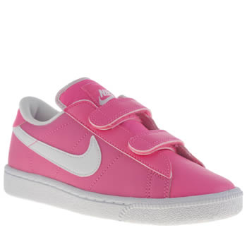Girls Nike Pink Tennis Classic Girls Junior