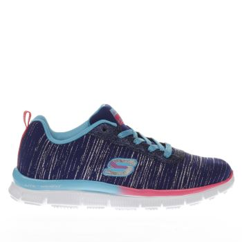 Skechers Purple SKECH APPEAL GLITTER RUSH Girls Junior