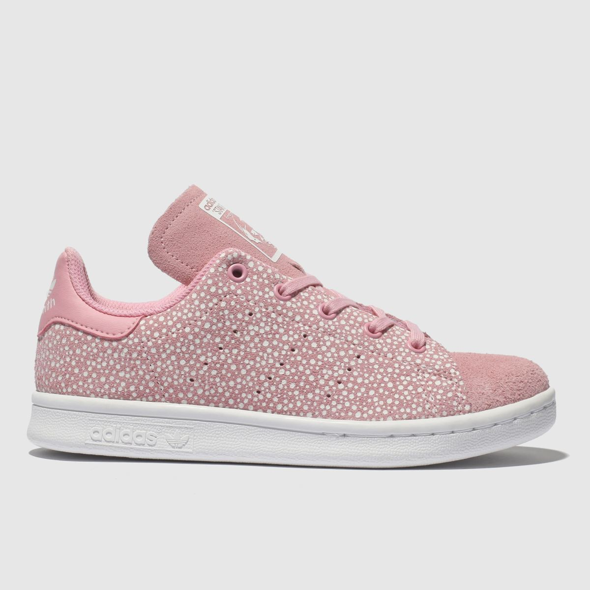 Adidas Pink Stan Smith Trainers Junior
