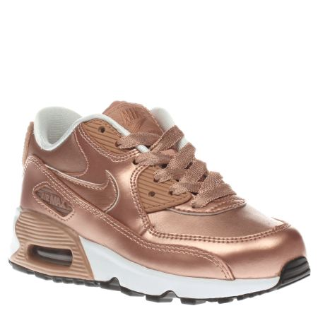 nike air max thea rose gold junior