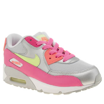 Nike Multi Air Max 90 Mesh Girls Junior
