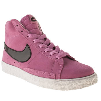 Nike Pink Blazer Mid Girls Junior