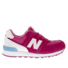 New Balance Pink 574 Girls Junior
