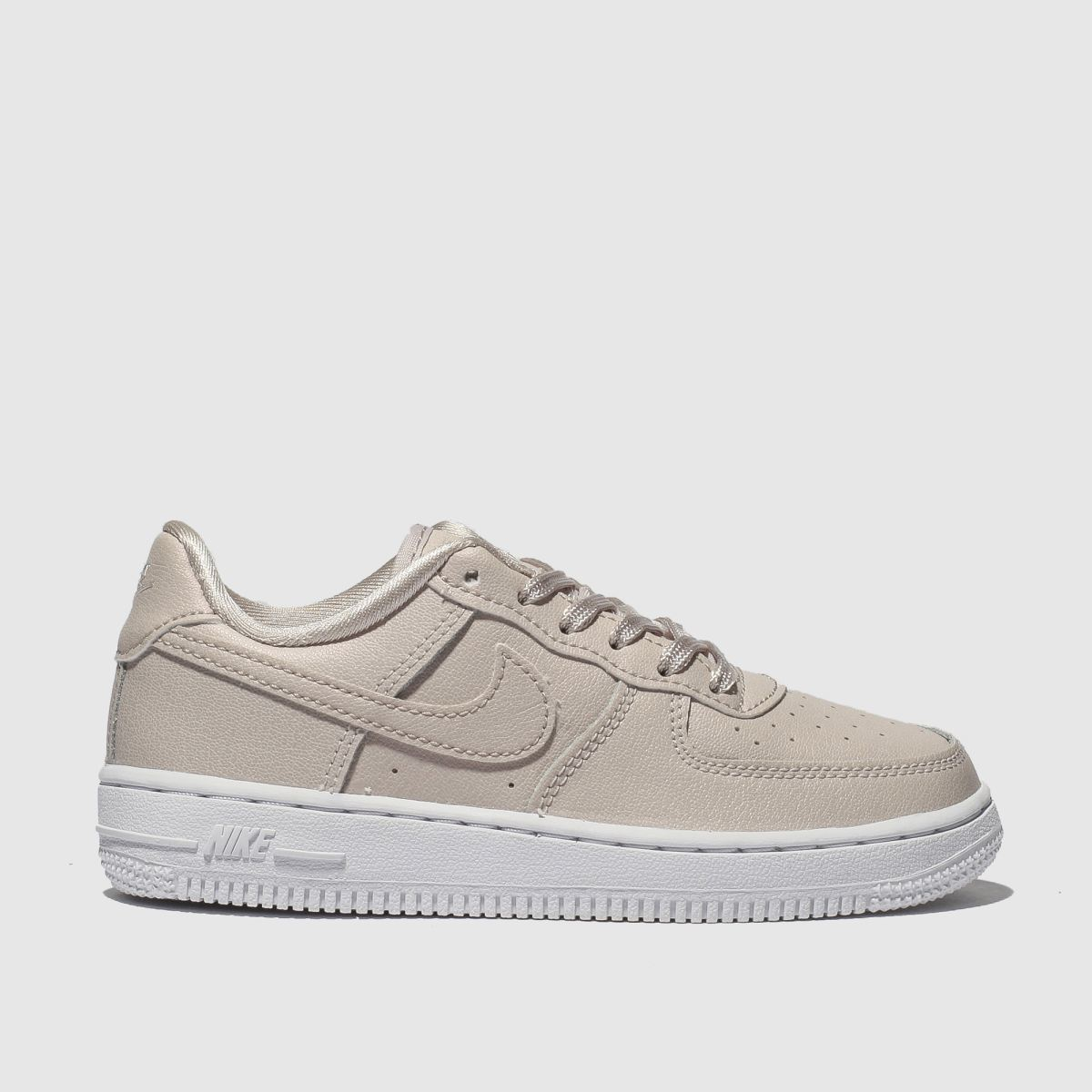 Nike Pale Pink Air Force 1 Ss Trainers Junior