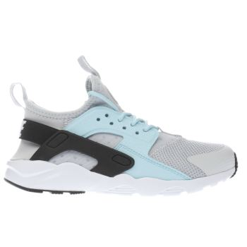 Nike Light Grey Huarache Run Ultra Girls Junior