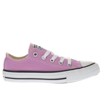Converse Lilac All Star Lo Girls Junior