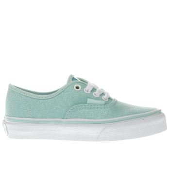 Vans Turquoise Authentic Girls Junior