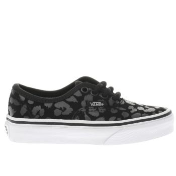 Vans Black Authentic Girls Junior