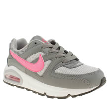Nike Grey Air Max Command Girls Junior