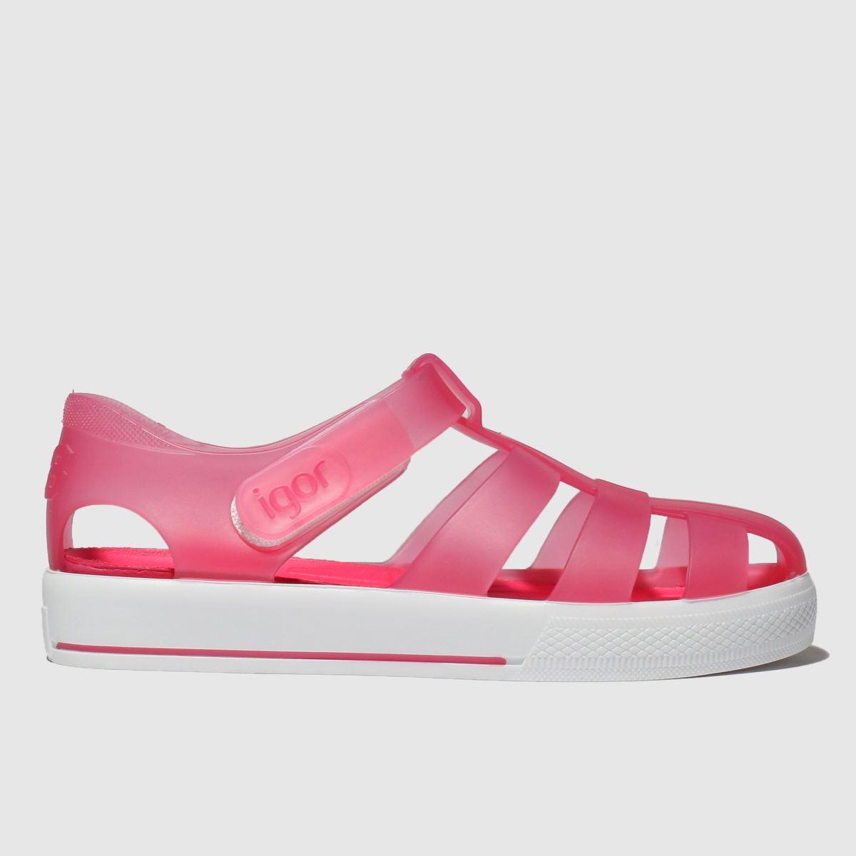 Igor Igor Pink Star Sandals Junior
