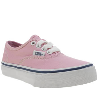 Vans Pale Pink Authentic Girls Junior