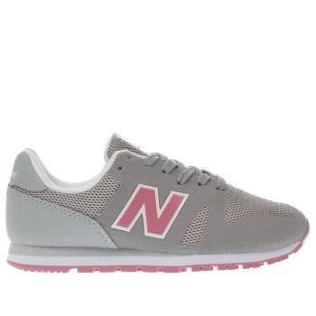 New Balance Grey 373 Girls Junior