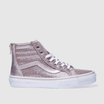 Vans Gold Sk8-Hi Zip Girls Junior