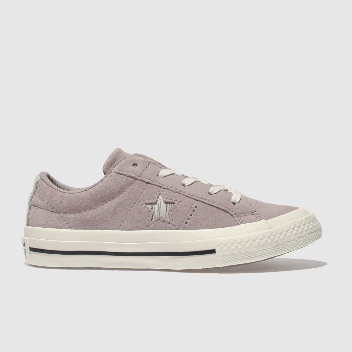 Converse Pale Pink One Star Ox Trainers Junior