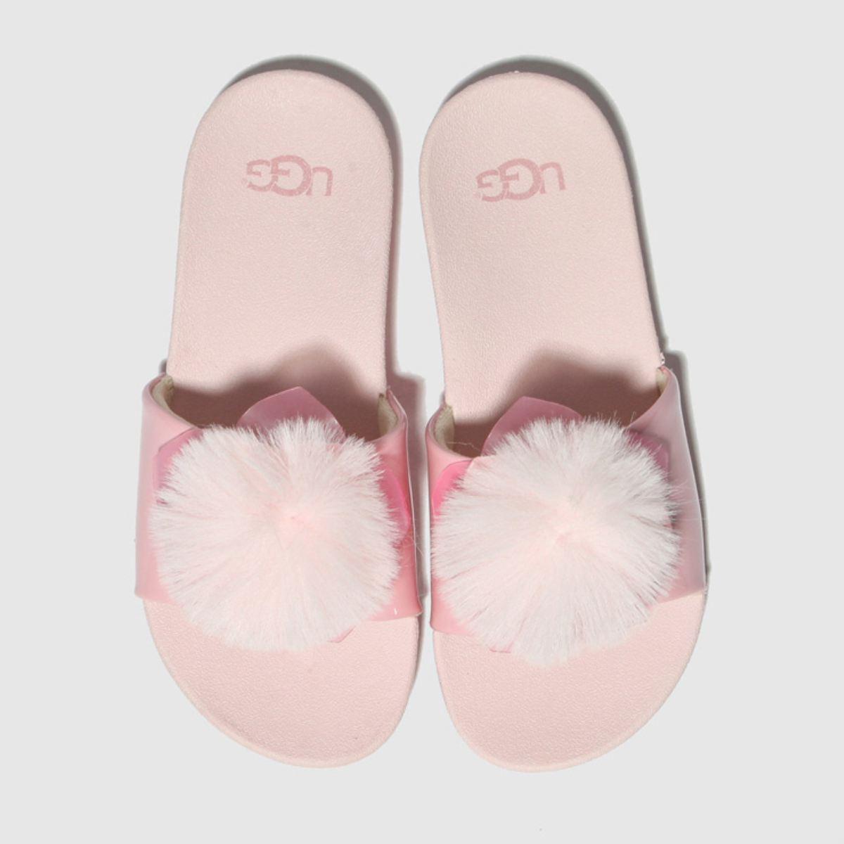 Ugg Pale Pink Cactus Flower Slide Trainers Junior