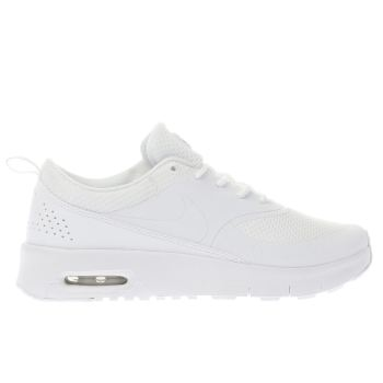 Nike White AIR MAX THEA Girls Junior