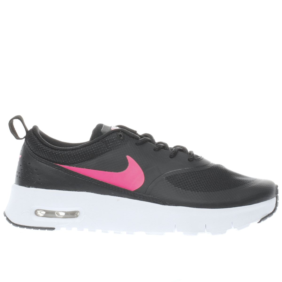 nike black air max thea Girls Junior Trainers