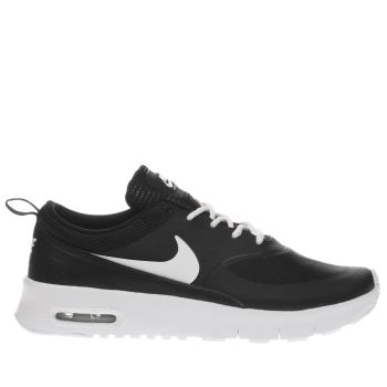 Nike Black & White AIR MAX THEA Girls Junior