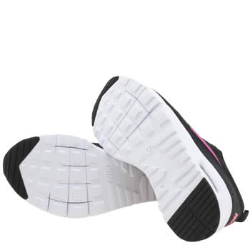 panier new balance 574 femme - Girls Black \u0026amp; Pink Nike Air Max Thea Junior Trainers   schuh