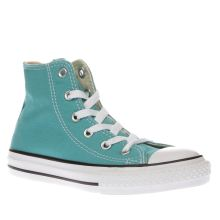 Converse Turquoise All Star Hi Girls Junior