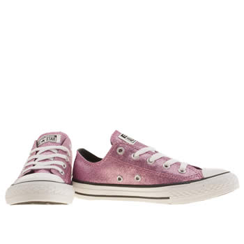 converse trainers pink