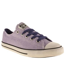 Junior Lilac Converse All Star East Coaster