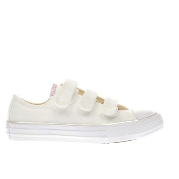 CONVERSE NATURAL ALL STAR OX 3V GIRLS JUNIOR TRAINERS
