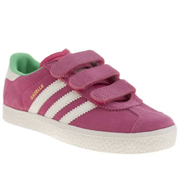 Adidas Pink Gazelle 2 Girls Junior