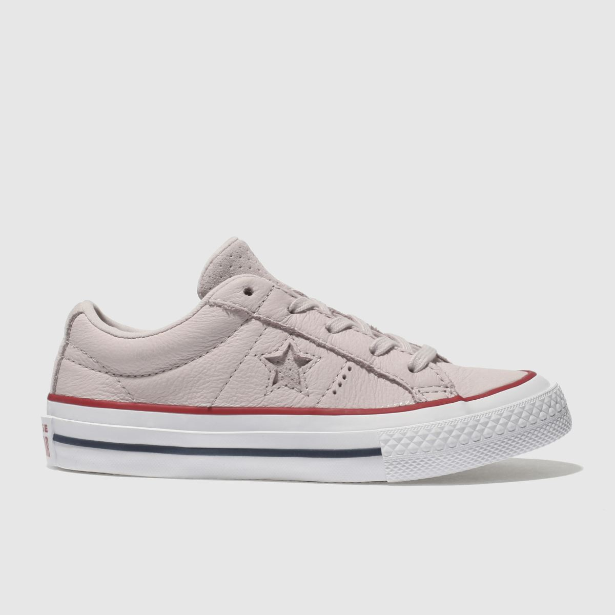 Converse Pale Pink One Star Ox Girls Junior Trainers