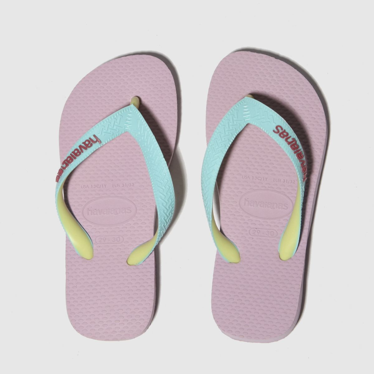 Havaianas Pale Pink Top Mix Trainers Junior