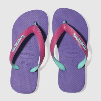 Havaianas Purple Top Mix Girls Junior