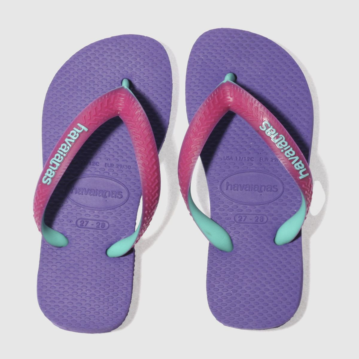 Havaianas Purple Top Mix Girls Junior Sandals