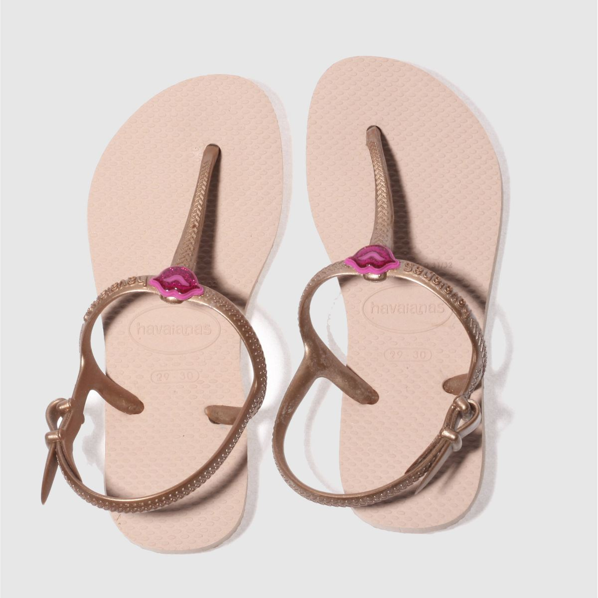 Havaianas Pale Pink Freedom Sl Girls Junior Sandals