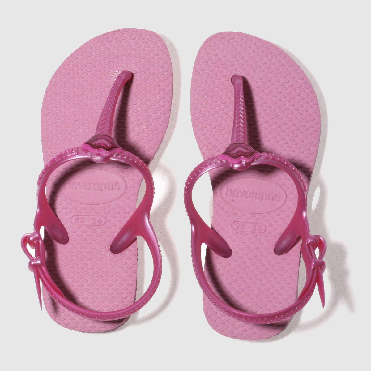 Havaianas Pink Freedom Sl Girls Junior Sandals