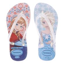 Havaianas Pink & Blue Slim Frozen Girls Junior
