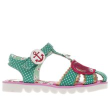 Irregular Choice Green Cherry Girls Junior