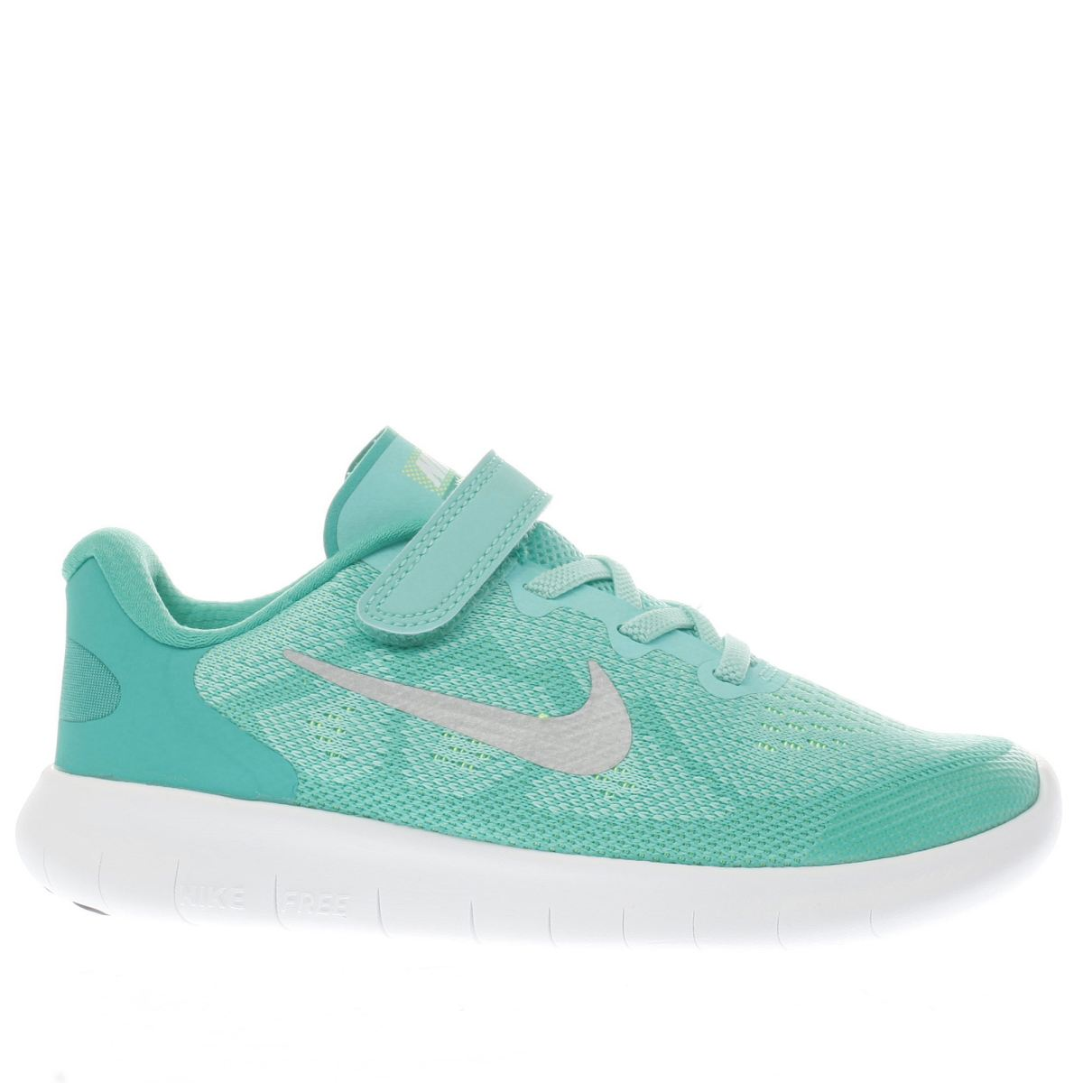 nike turquoise free run 2 Girls Junior Trainers