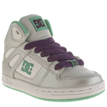 Dc Shoes Silver Rebound Girls Junior